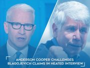 Anderson Cooper Confronts Blagojevich Claims in Interview