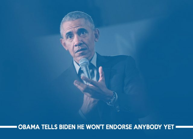 Barack Obama not Supporting any Democrat