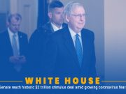 WH, Senate Reach USD 2 Trillion Support Package for Economy