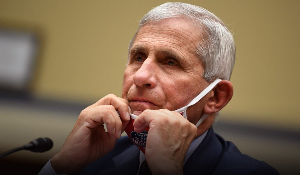 Dr. Fauci says it would have to be 'really, really bad' for him to support Lockdown