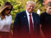 First Lady Melania says, her son Barron had COVID-19