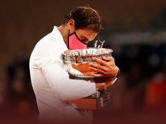 Nadal outclasses Djokovic to tie eternal rival Federer's 20 Slam singles titles