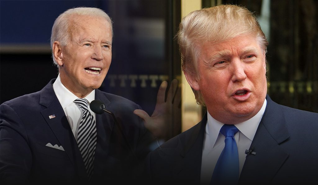 Biden and Trump in a row over the topics ahead of final presidential debate