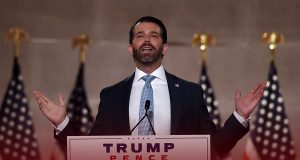 Donald Trump Jr. attacks Republicans for not backing their father