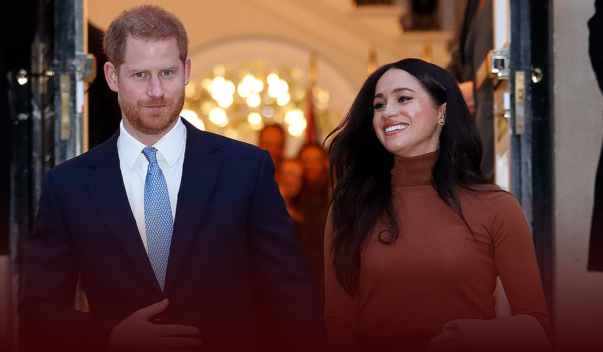 The British Press forced him to leave the Royal Family - Prince Harry