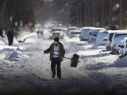 Hazardous storm batters western America as airport shut down