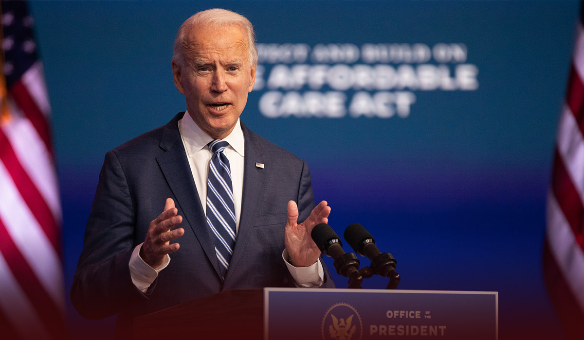 Biden Urges States and Cities to Pause Reopening
