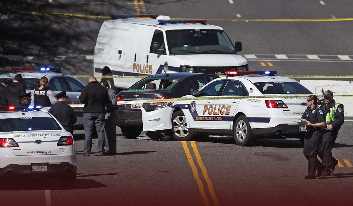 USCP Officer Killed after a suspect hit a Vehicle into Police Checkpoint